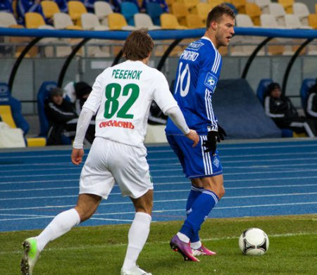 Ворскла - Динамо 2:2