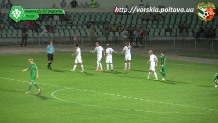 Авангард - Ворскла 0:2 огляд матчу